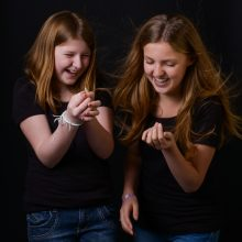 fotograaf aalsmeer foto zusjes