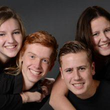 studiofotografie broers zussen kwakel