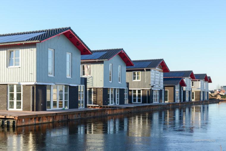 Foto's project Dorpshaven Aalsmeer